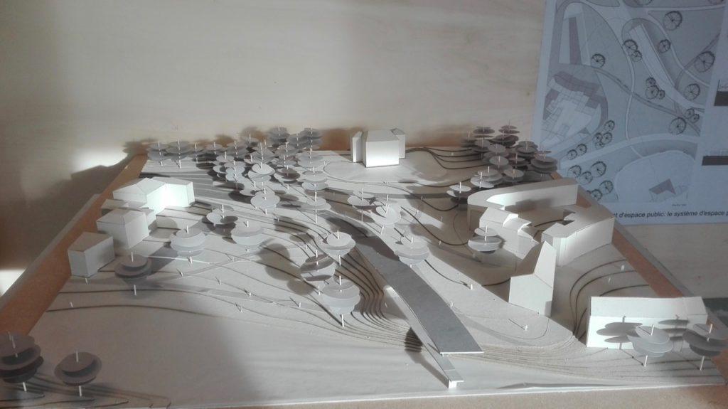 Deux projets réalisés par les étudiants en architecture (ULiège)
