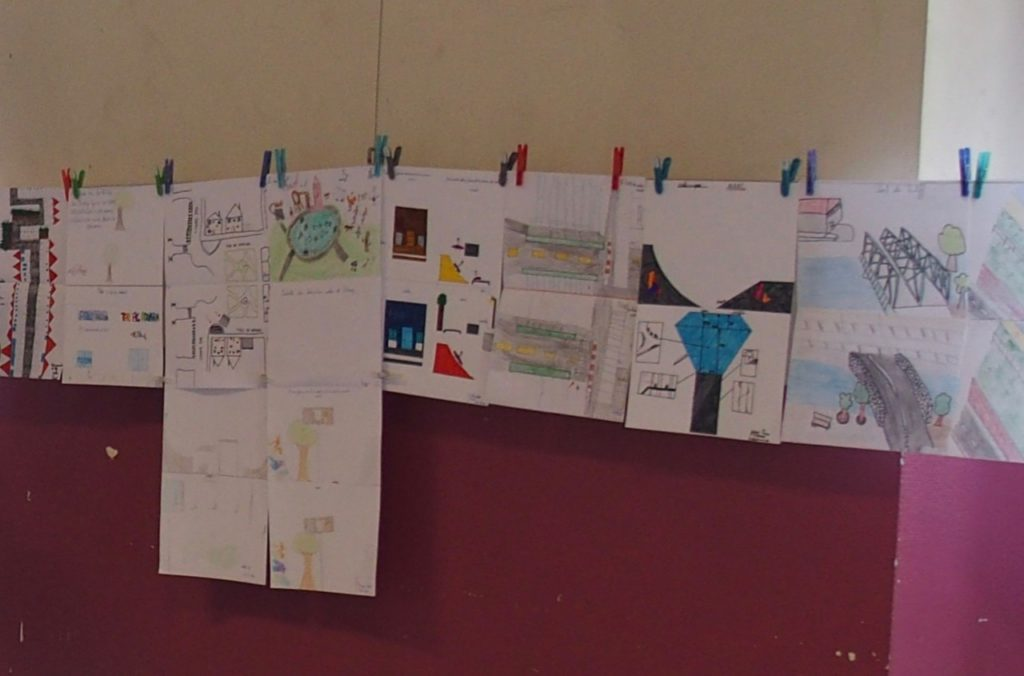 Les enfants ont communiqué leurs observations à travers des dessins