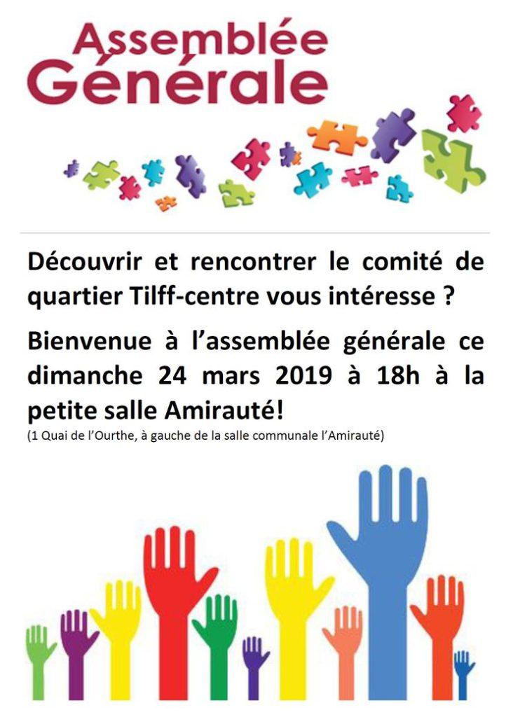 Affiche AG du CQTC 19